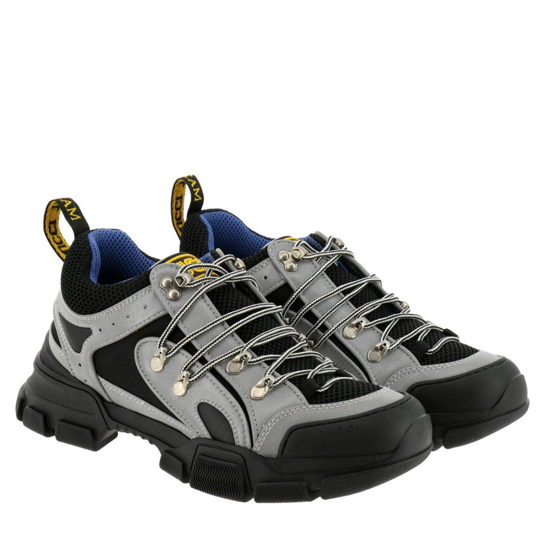 Schuhe herren Gucci grau 2