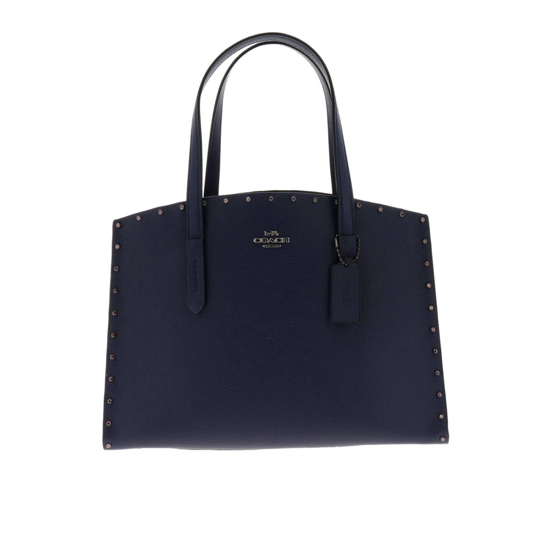 Shoulder bag women Coach blue 1
