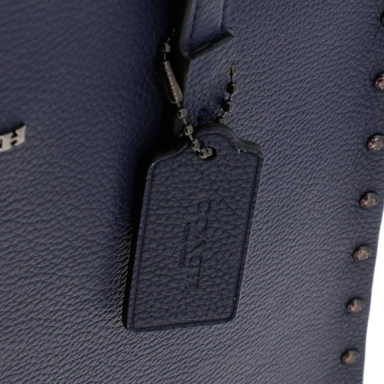 Shoulder bag women Coach blue 4