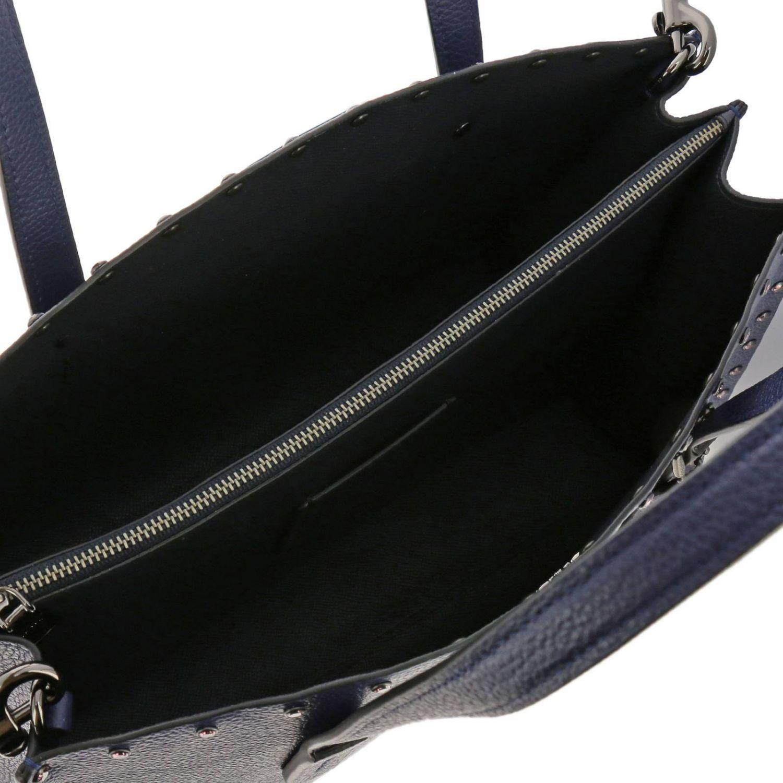 Shoulder bag women Coach blue 5