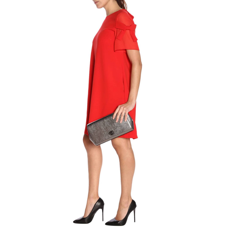 Shoulder bag women Coach grey 2