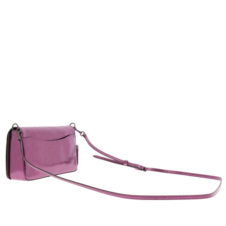 Mini bag Coach: Shoulder bag women Coach cyclamen 3