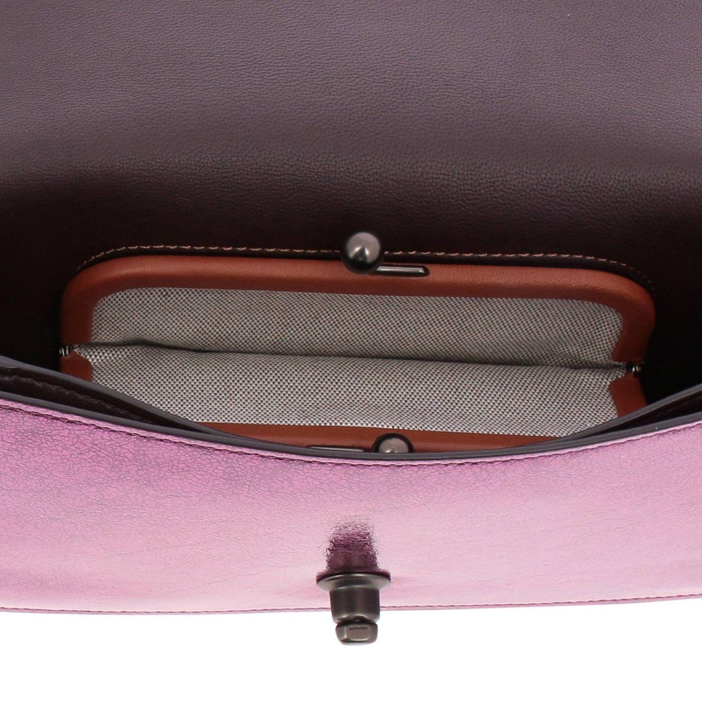 Mini bag Coach: Shoulder bag women Coach cyclamen 5