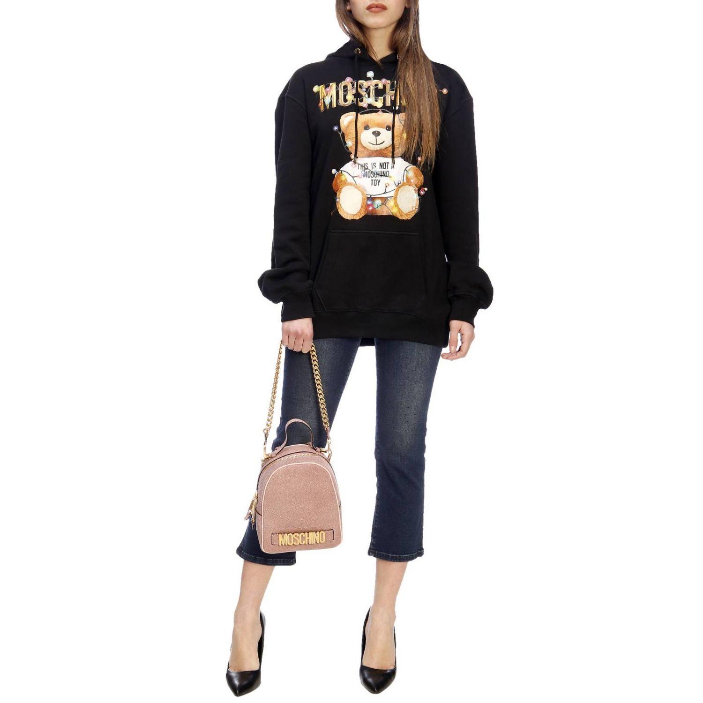 Jumper women Moschino Couture black 5