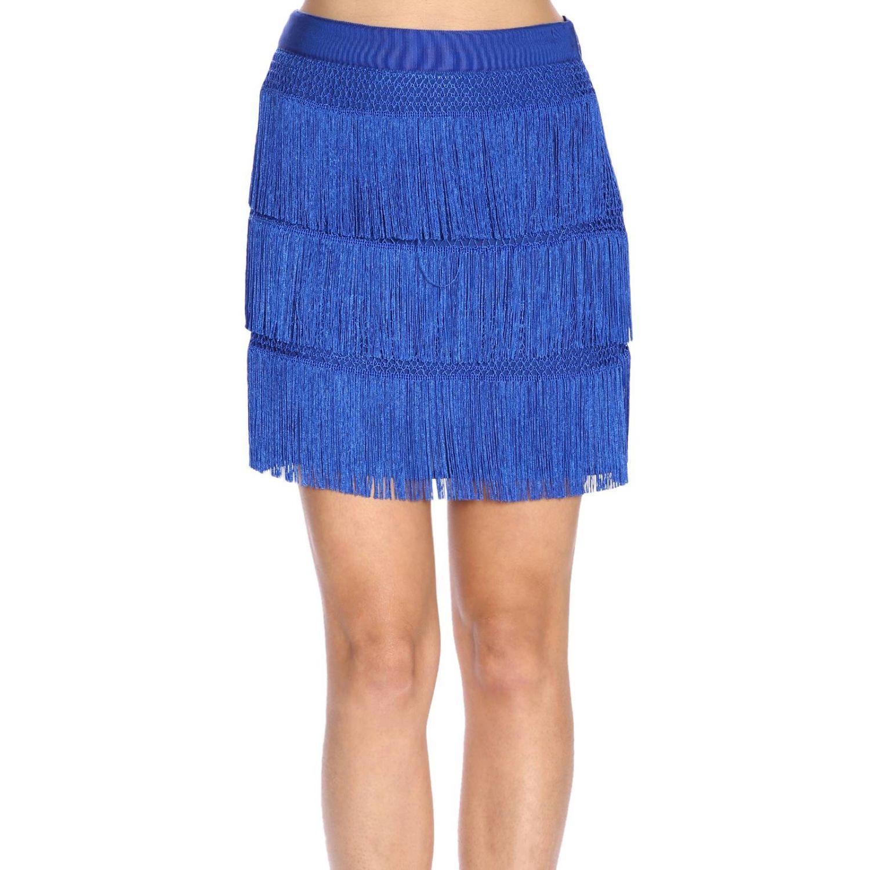半身裙 Alberta Ferretti: 半身裙 女士 Alberta Ferretti 浅蓝色 1