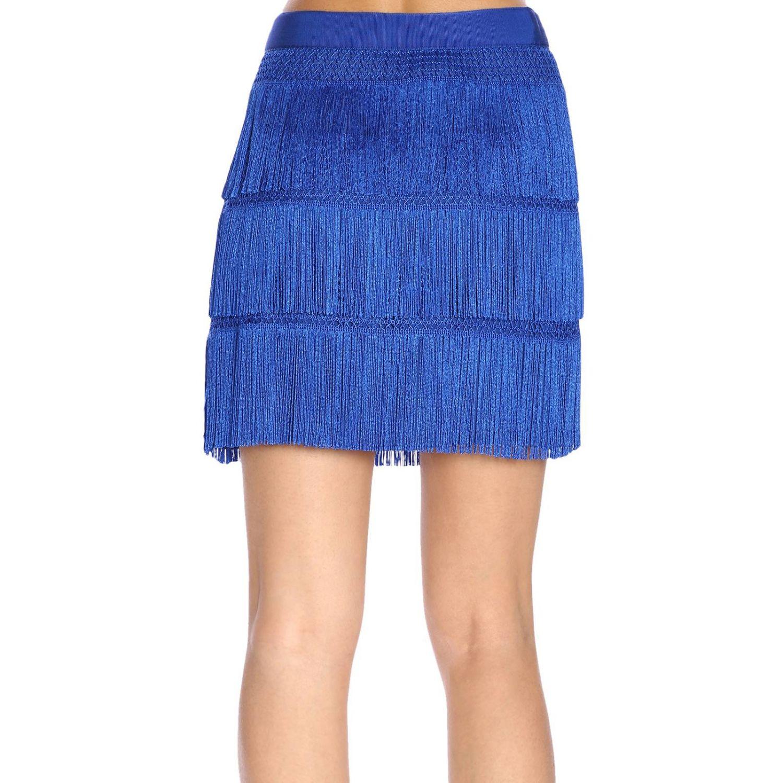 半身裙 Alberta Ferretti: 半身裙 女士 Alberta Ferretti 浅蓝色 3