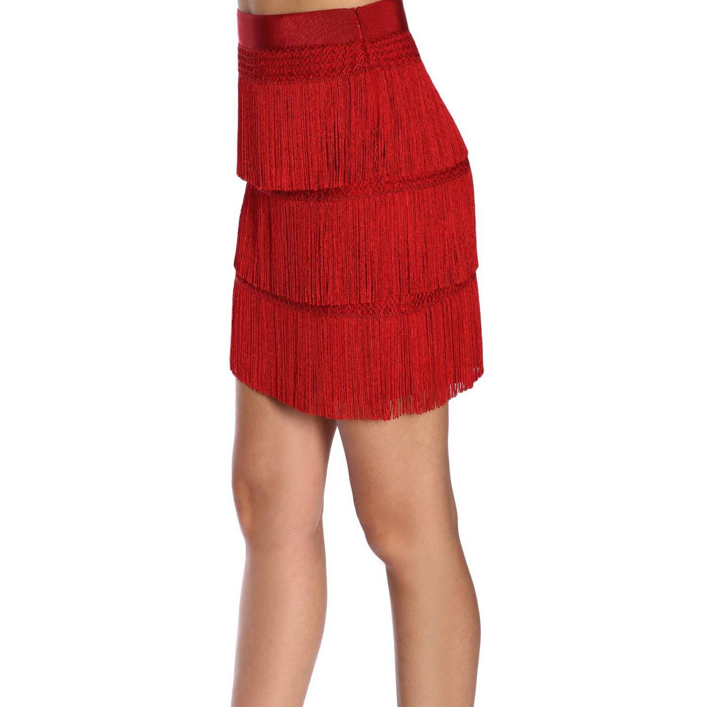 Falda Alberta Ferretti: Falda mujer Alberta Ferretti rojo 2