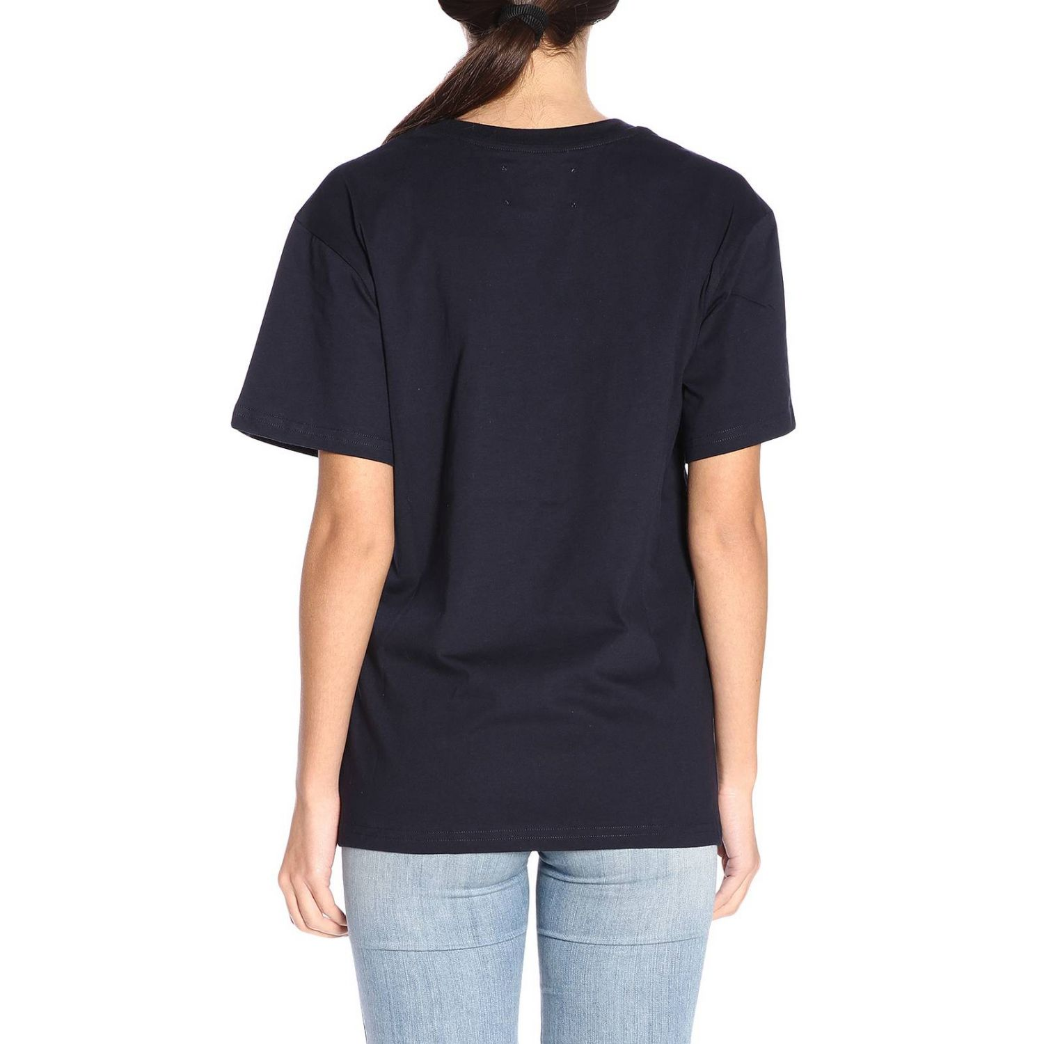 T-shirt women Alberta Ferretti blue 3