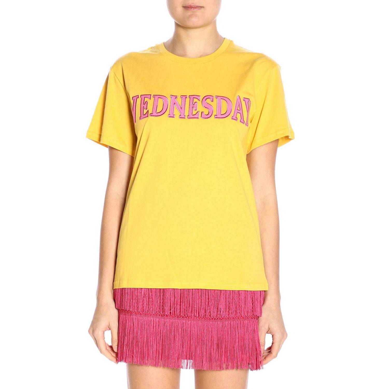 T-shirt women Alberta Ferretti yellow 1
