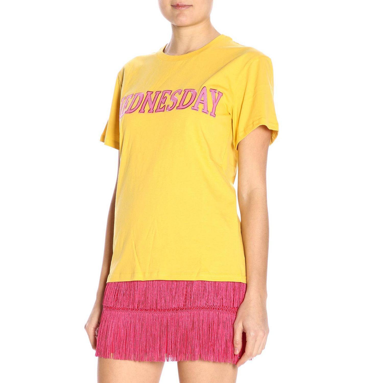 T-shirt women Alberta Ferretti yellow 2