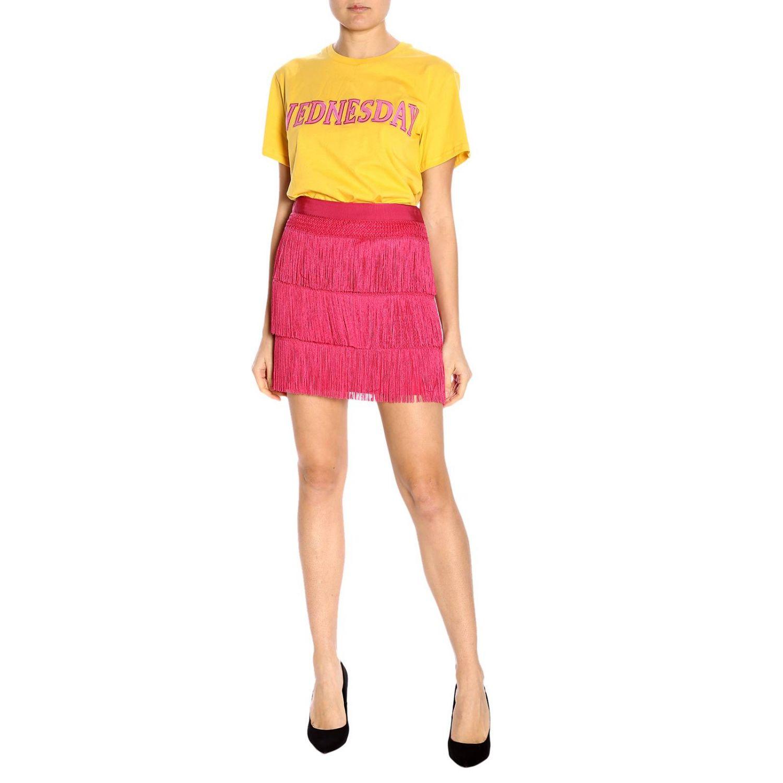 T-shirt women Alberta Ferretti yellow 4