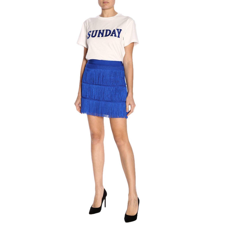 T-shirt women Alberta Ferretti white 4