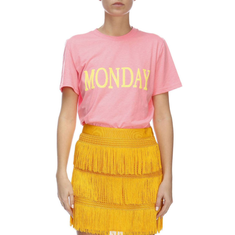 T-shirt women Alberta Ferretti fuchsia 1
