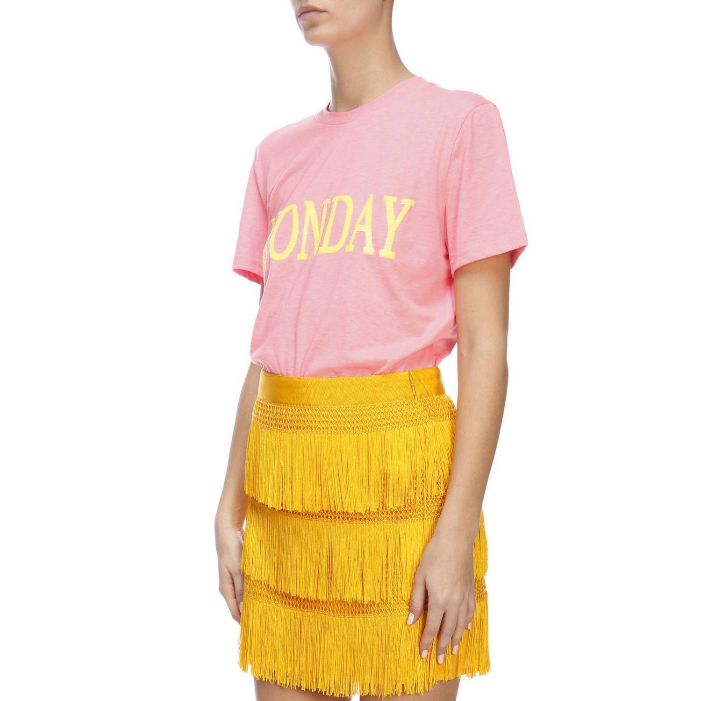 T-shirt women Alberta Ferretti fuchsia 2