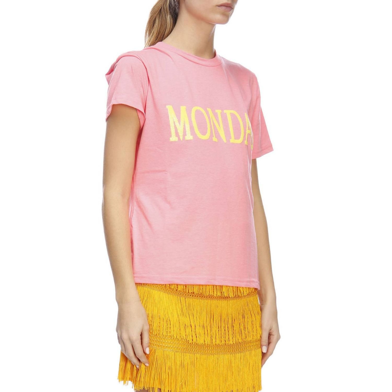 T-shirt women Alberta Ferretti fuchsia 4