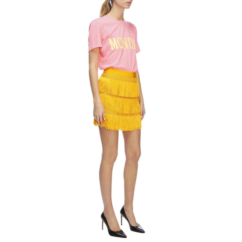 T-shirt women Alberta Ferretti fuchsia 5