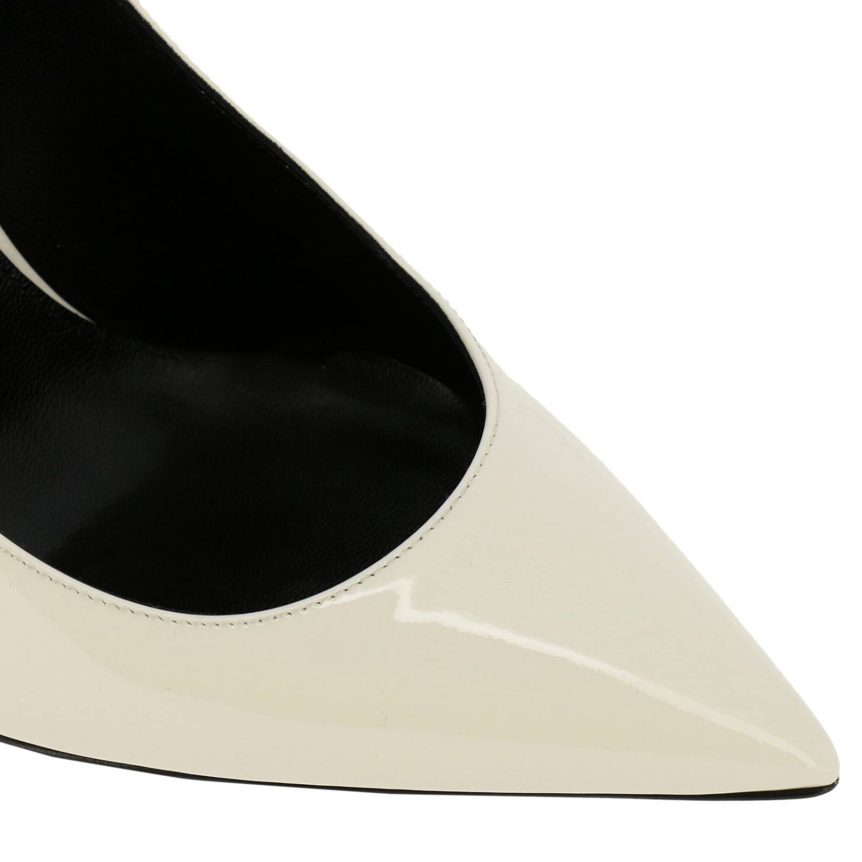 Shoes women Saint Laurent yellow cream 3