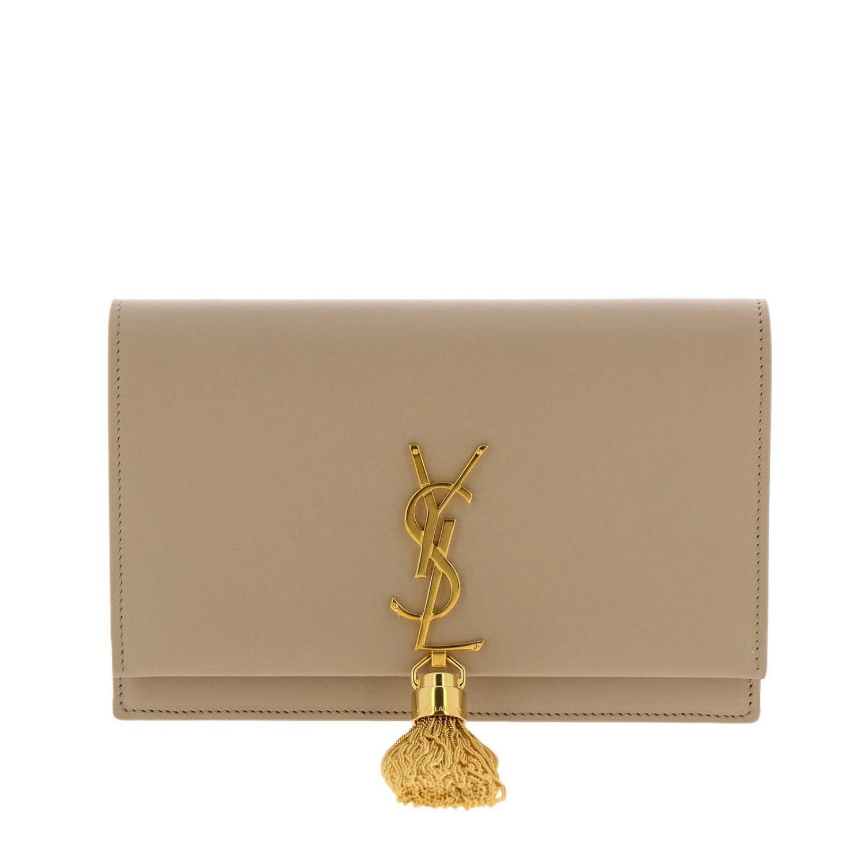 Mini bag women Saint Laurent beige 1
