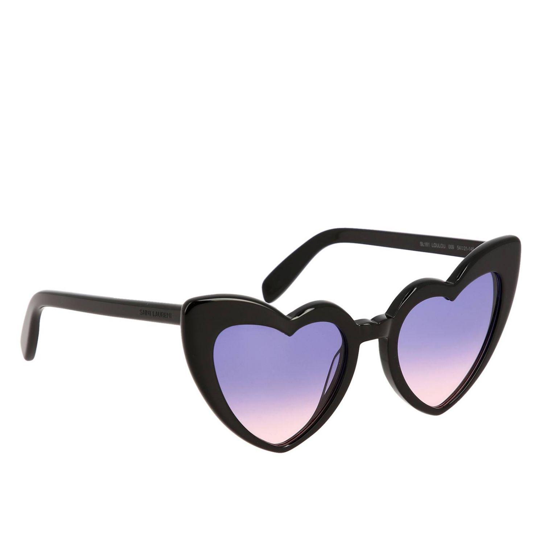 Brille Saint Laurent: Sonnenbrille damen Saint Laurent schwarz 1