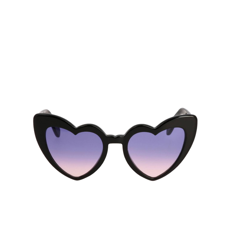 Brille Saint Laurent: Sonnenbrille damen Saint Laurent schwarz 2