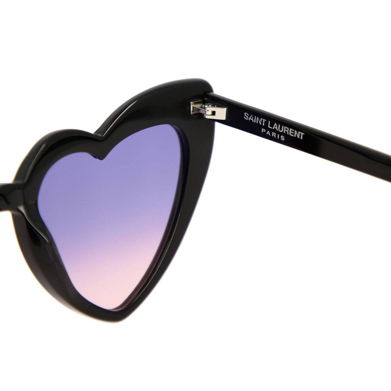 Brille Saint Laurent: Sonnenbrille damen Saint Laurent schwarz 3