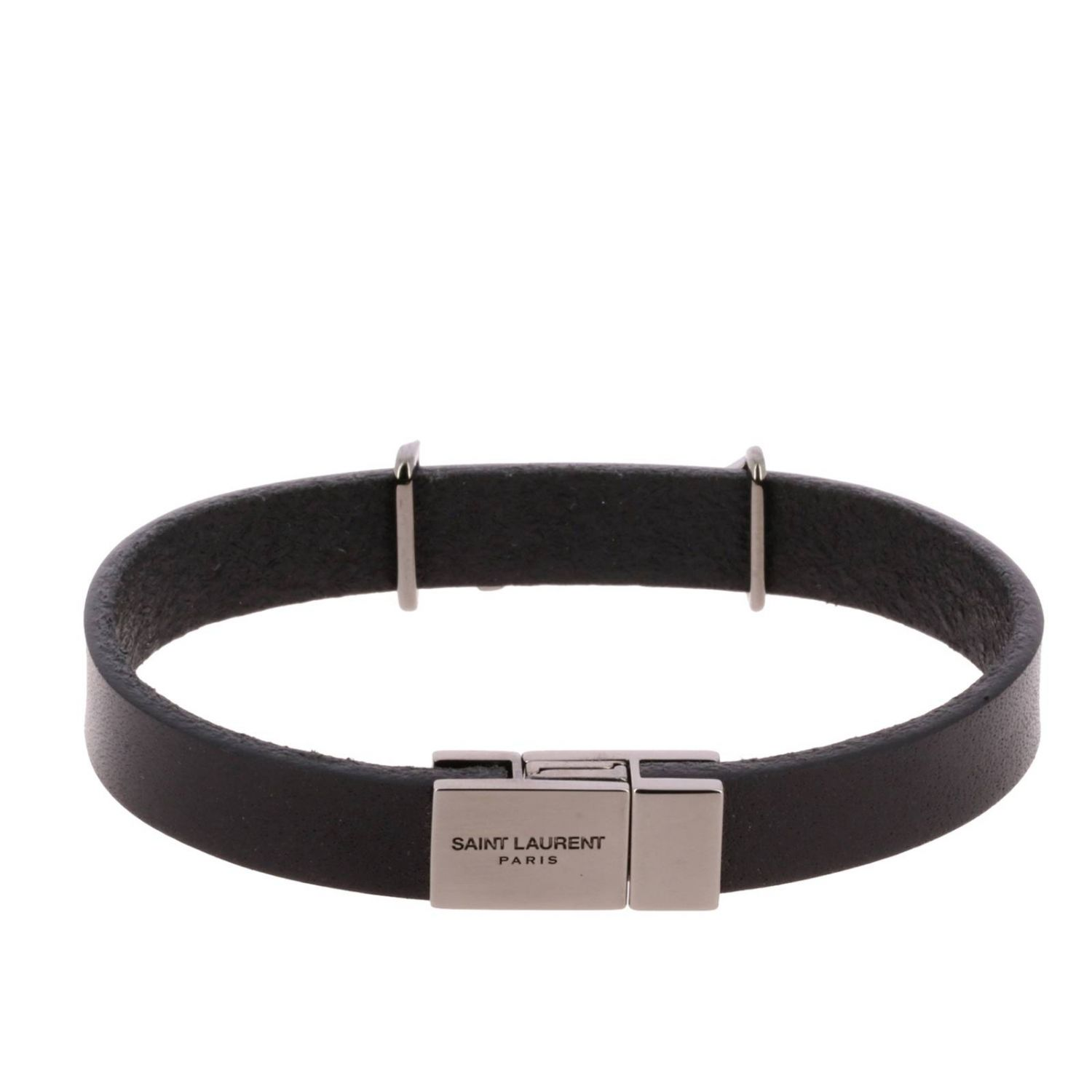 Bijoux Saint Laurent: Bijoux homme Saint Laurent noir 2