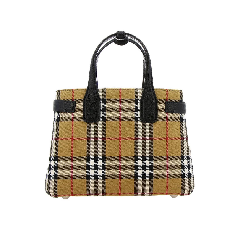 Mini bag Burberry: Shoulder bag women Burberry black 1