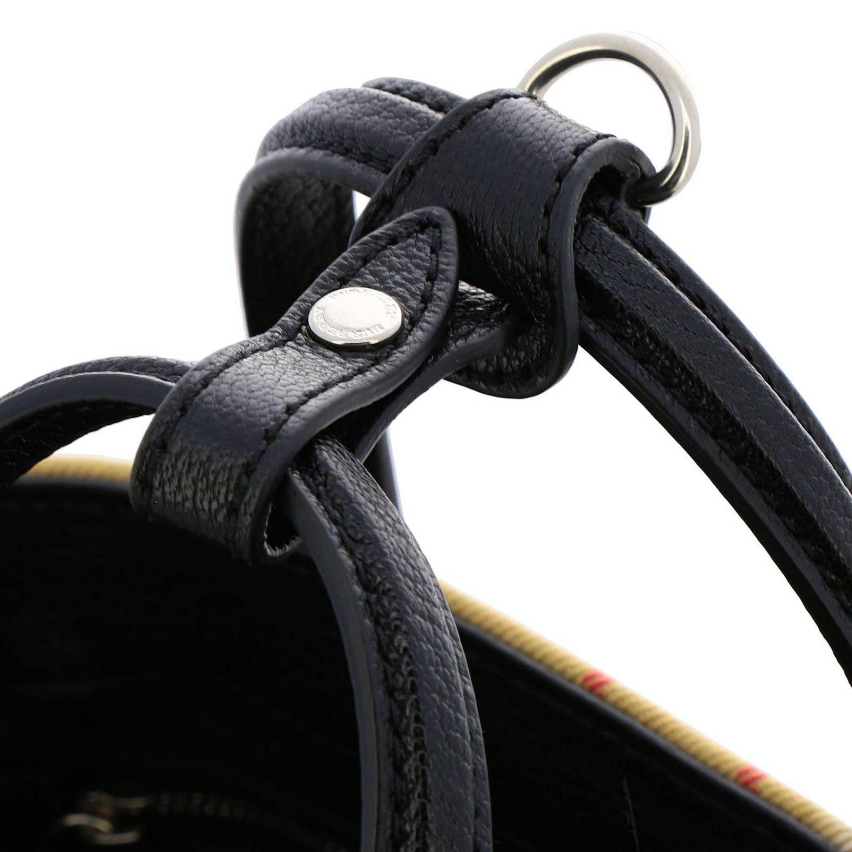 Mini bag Burberry: Shoulder bag women Burberry black 4