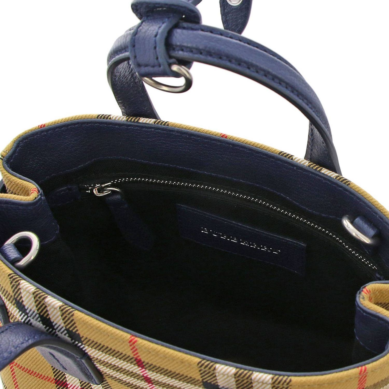 Shoulder bag women Burberry blue 5