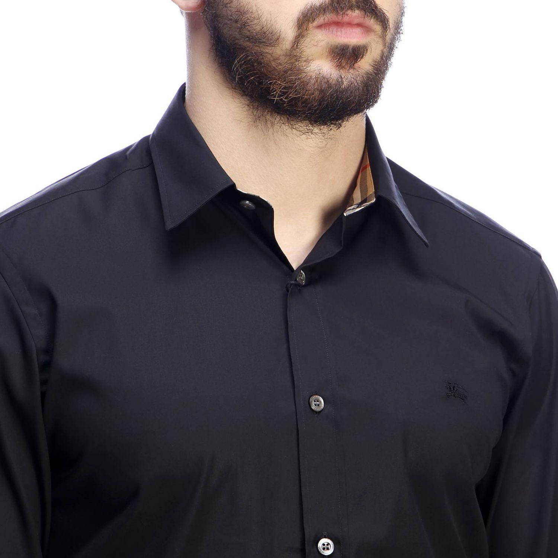 Рубашка Мужское Burberry черный 4
