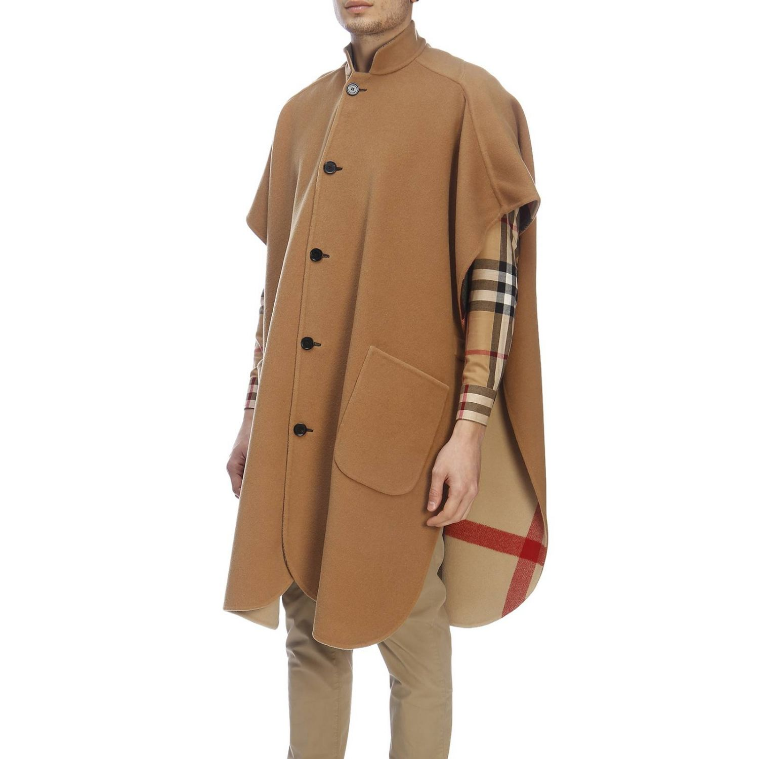 Cape men Burberry beige 2
