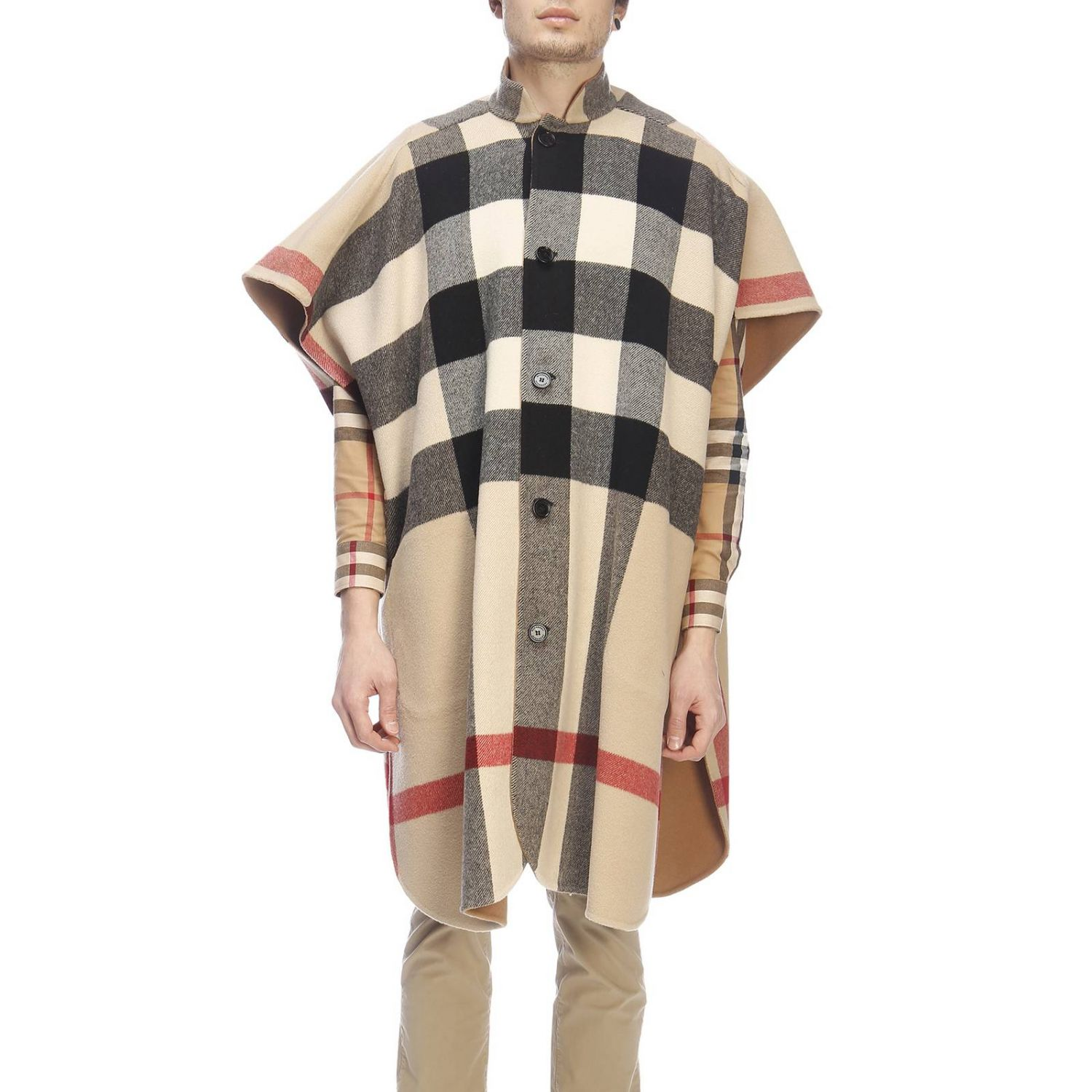 Cape men Burberry beige 4