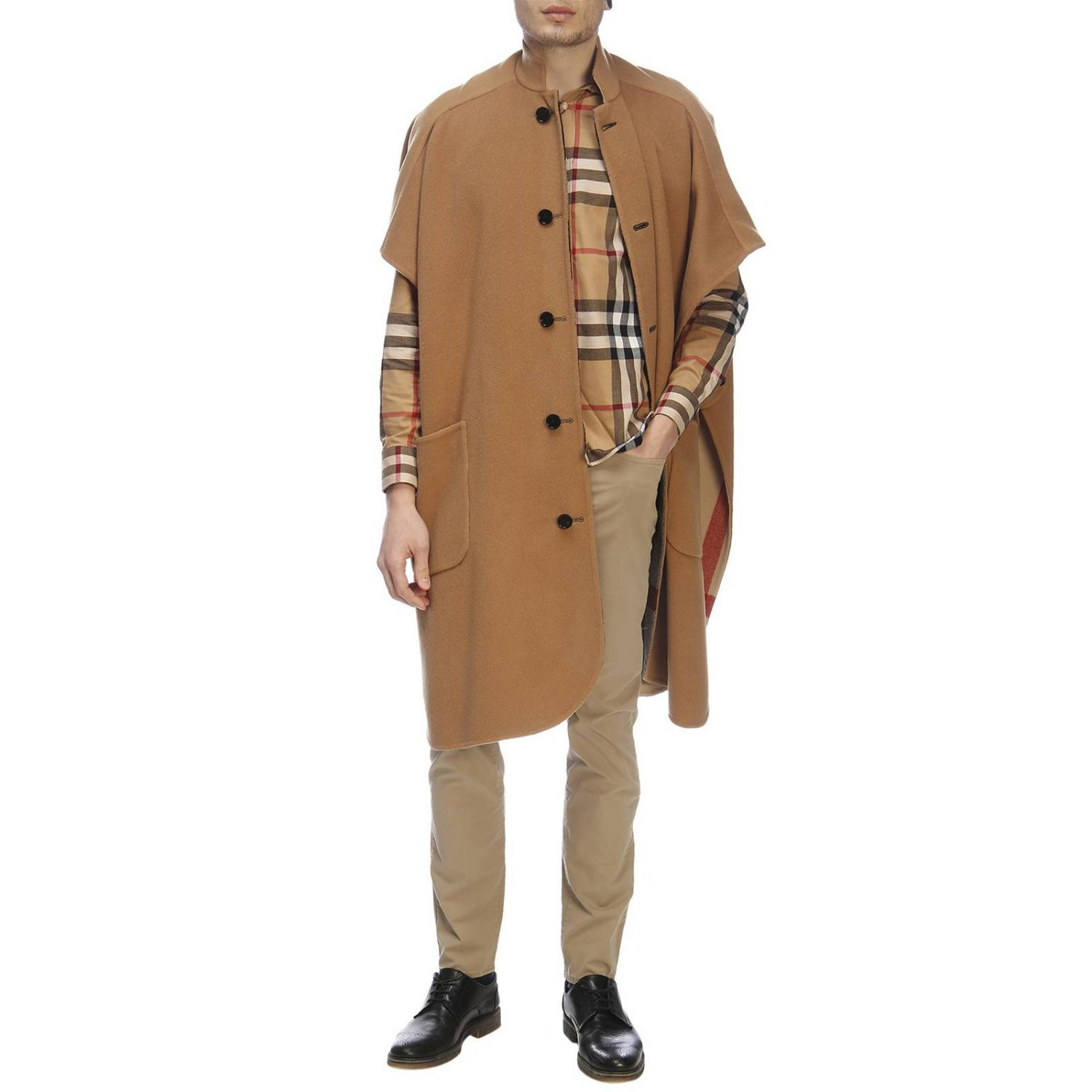 Cape men Burberry beige 5