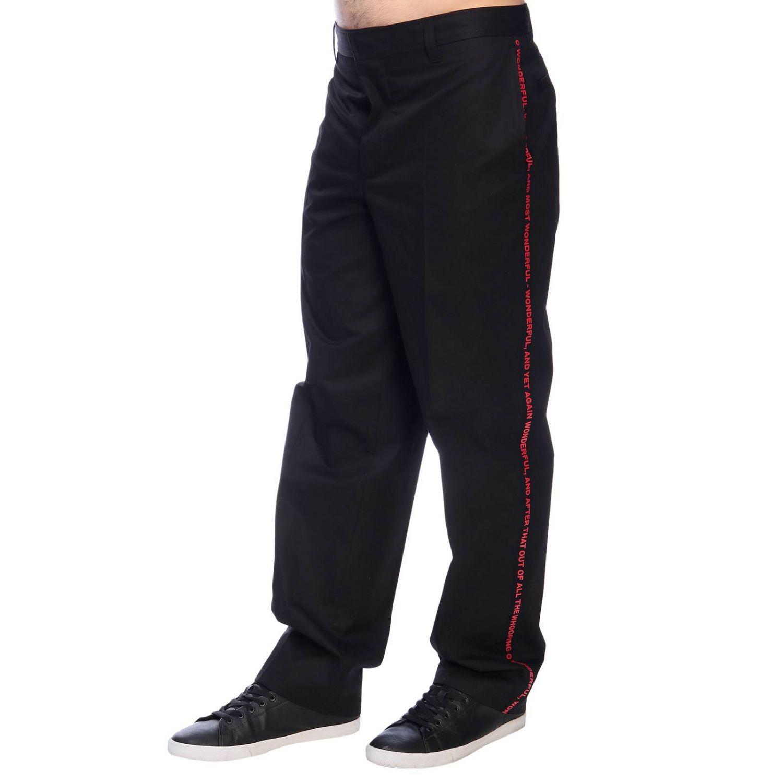 Trousers men Burberry black 2