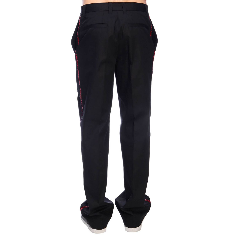 Trousers men Burberry black 3
