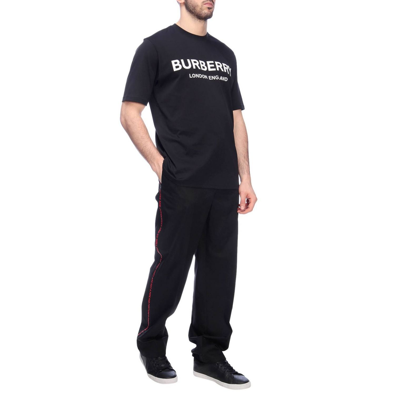 Trousers men Burberry black 4