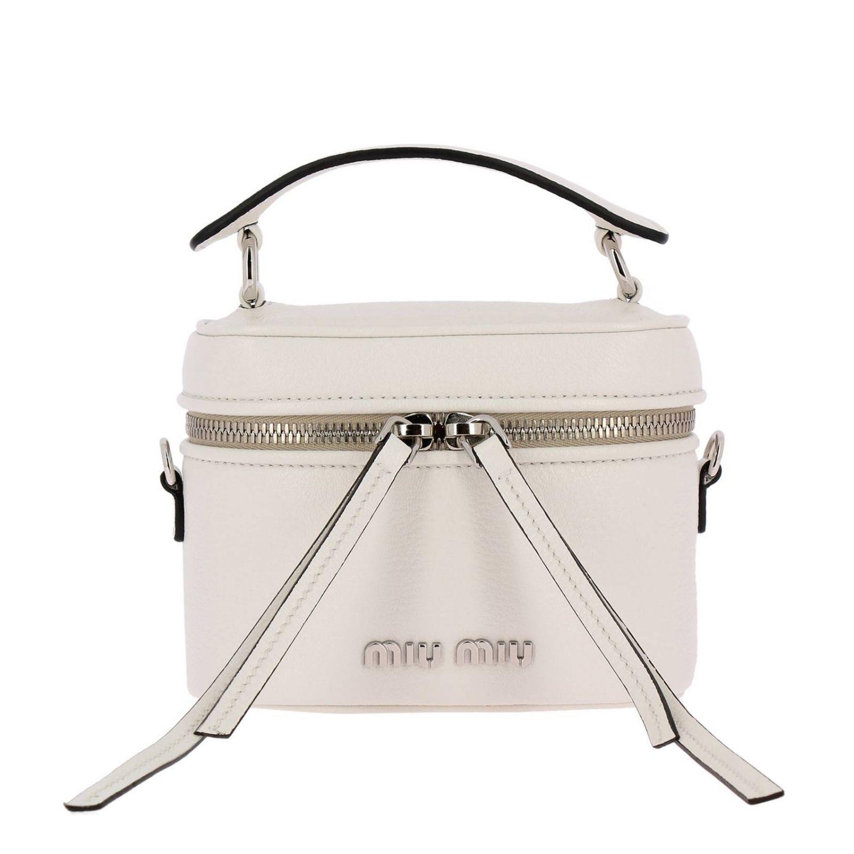 Mini bag Miu Miu: Shoulder bag women Miu Miu white 1