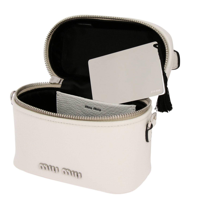 Mini bag Miu Miu: Shoulder bag women Miu Miu white 4