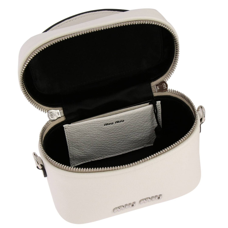 Mini bag Miu Miu: Shoulder bag women Miu Miu white 5