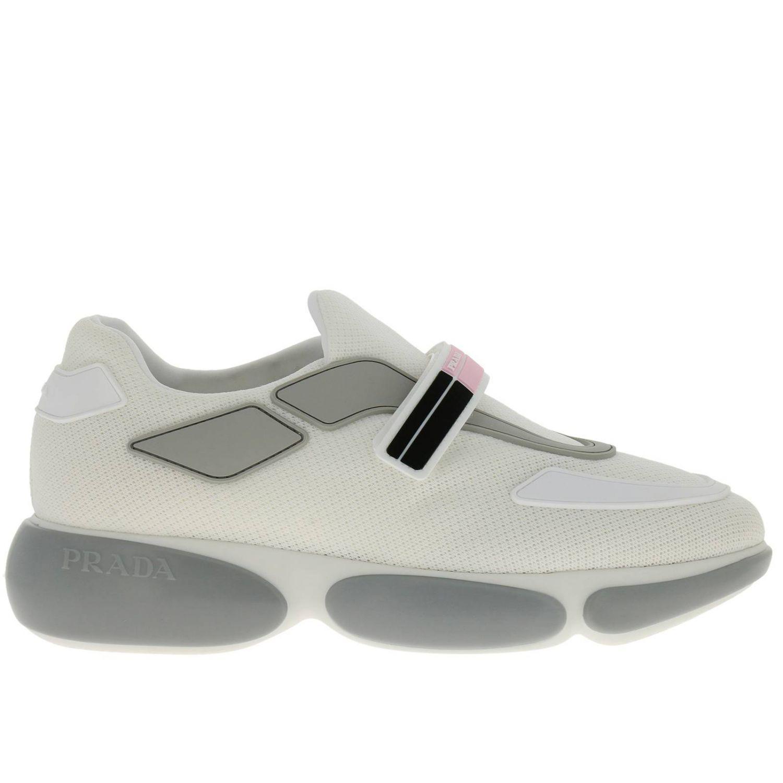 Обувь Женское Prada белый 1