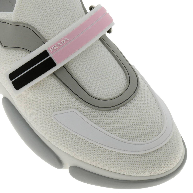 Обувь Женское Prada белый 3