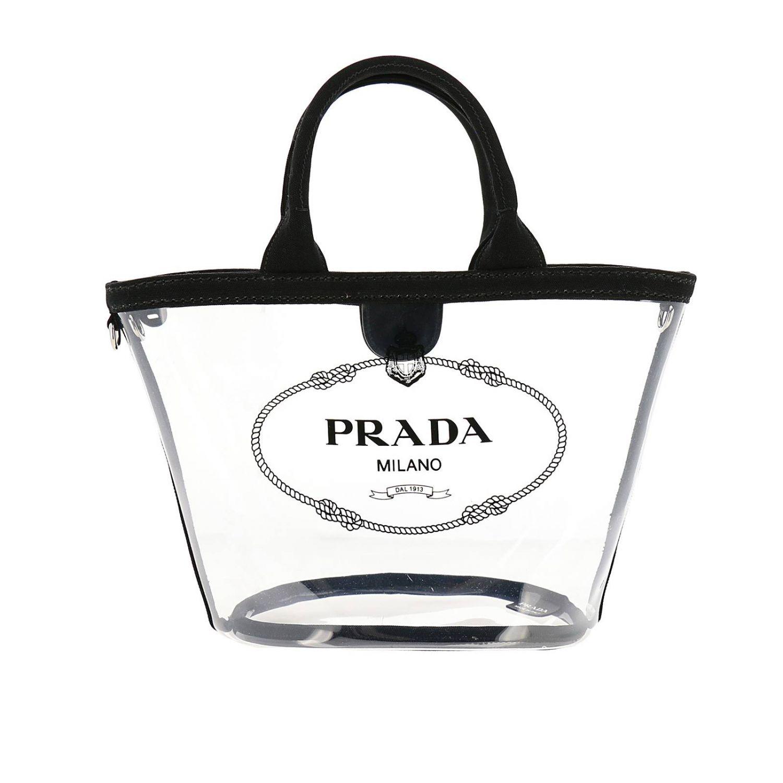 Наплечная сумка Женское Prada черный 1