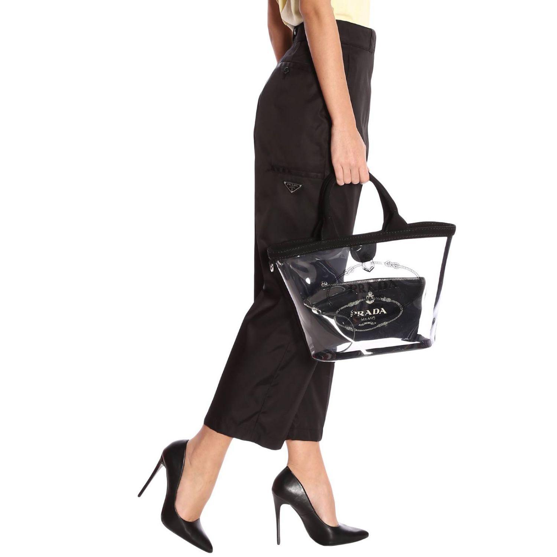 Наплечная сумка Женское Prada черный 2