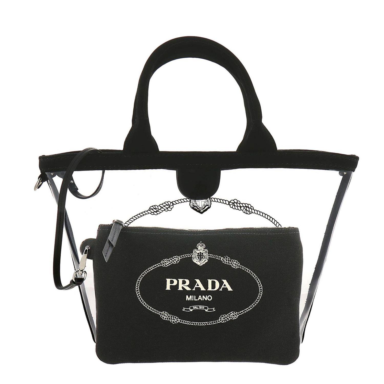 Наплечная сумка Женское Prada черный 4