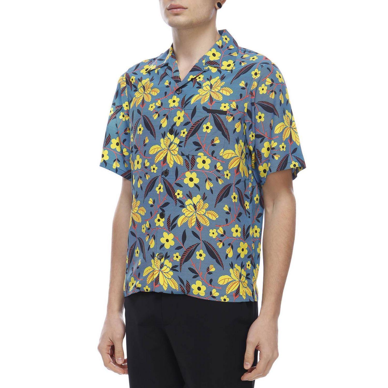 Рубашка Мужское Prada синий 2