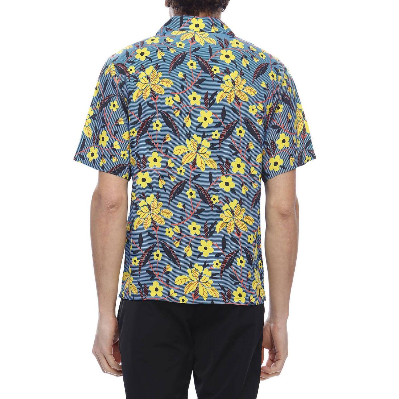 Рубашка Мужское Prada синий 3