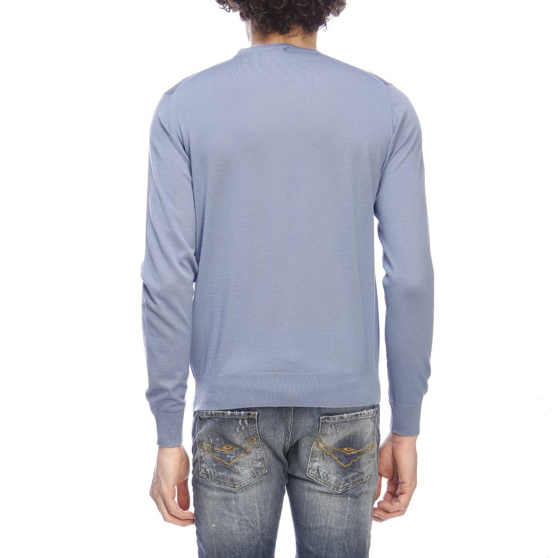Pull homme Prada bleu azur 3