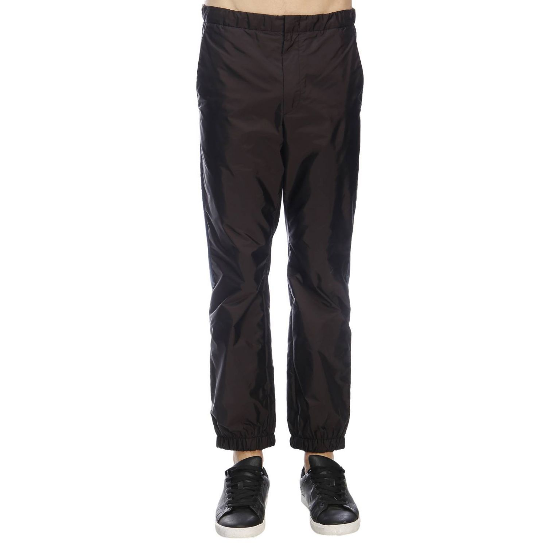 Trousers Prada: Trousers men Prada black 1