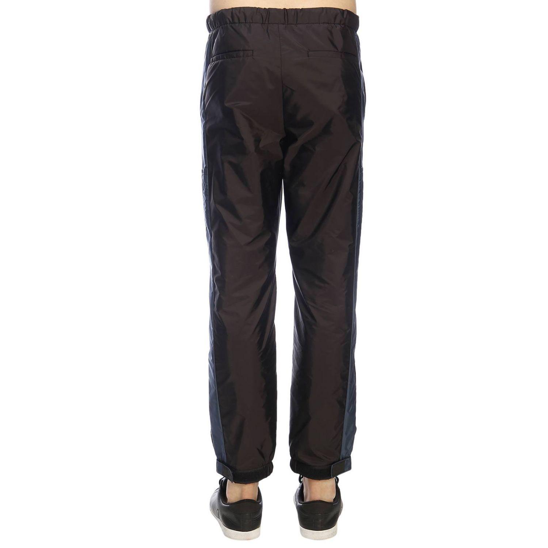 Trousers Prada: Trousers men Prada black 3