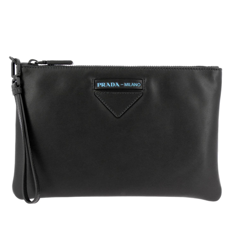 Briefcase Prada: Bags men Prada black 1